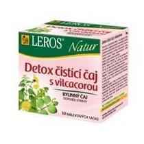 Leros NATUR Detox čistící čaj s Vilcacorou 20 x 1.5