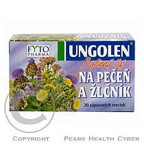 Fytopharma Ungolen Bylinný čaj játra+žlučník 20x1.5g Fytophar