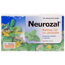 DR.MüLLER Neurozal bylinný čaj na uklidnění 20x1.5g