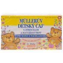 DR.MüLLER Müllerův dětský čaj s jitrocelem a mateřídouškou 20x1.5g