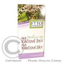 Fytopharma Bylinný čaj na křečové žíly 20x1.25g
