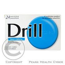 Dietetique et Pharmacie Drill bez cukru (24 pastilek)