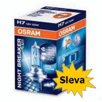 Osram H4 12V 60/55W Night Breaker Plus