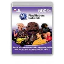 PLAYSTATION NETWORK CARD 500 (PS3)