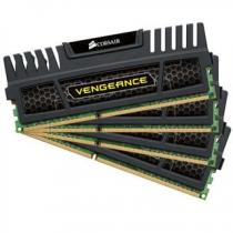Corsair Vengeance Black 16GB (4x4GB) DDR3 1600 CL 9 (CMZ16GX3M4A1600C9)