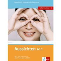 Aussichten A1.1 Kurs-und Arbeitsbuch + CD + DVD - Hosni L. Ros-El