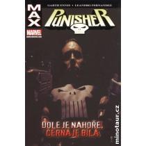 Punisher Max 4 - Dole je nahoře, černá je bílá - Ennis Garth,