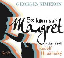 5x komisař Maigret - 5CD - Simenon Georges