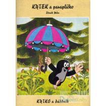 Krtek a paraplíčko - omalovánky A4 - Miler Zdeněk