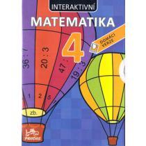 CD Interaktivní matematika 4 - Šírová Marie