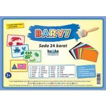 Barvy - Sada 24 karet - Kupka Petr
