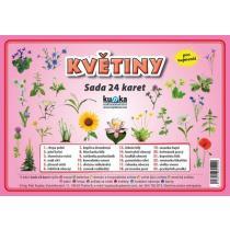 Květiny - Sada 24 karet - Kupka Petr