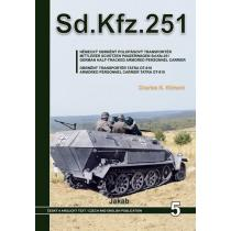 Sd.Kfz.251 - Německý obrněný polopásový transportér a obrněný