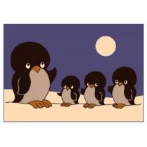 Koberec Tučňáci