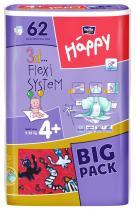 Bella Happy Maxi Plus Big Pack - 62 ks