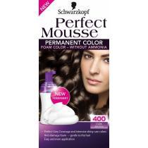 SCHWARZKOPF Perfect Mousse č.400 Tmavě hnědý