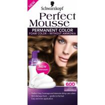 SCHWARZKOPF Perfect Mousse č.600 Světle hnědý