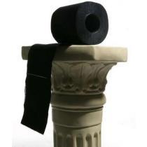 Černý toaletní papír