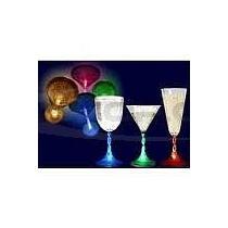 Svítící párty skleničky Sekt