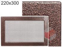 Amstal - Krbová mřížka 22x30cm černoměděná