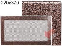 Amstal - Krbová mřížka 22x37cm černoměděná