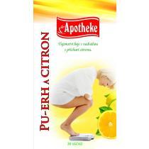 Apotheke Pu-erh a citron čaj 20 x 1.8 g n. s.