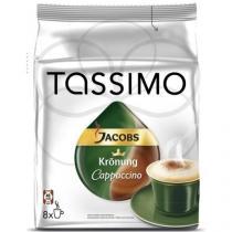 Tassimo Jacobs Kronung Cappuccino 264g - 8+8 kapslí