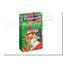 Vitakraft Drops Carrot Rabbit - 75g