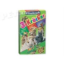Vitakraft Kracker Rabbit Vegetables + Nuss + Fruit - 3ks