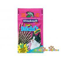 Vitakraft Cat Stickis Slim salmon + trout 12ks
