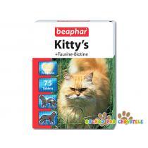 Beaphar Kittys s taurinem a biotinem 75tablet