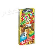Kracker Sittich Honey + Egg + Fruit Vitakraft - 3ks