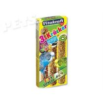 Vitakraft Kracker Sittich Banana + Kiwi + Fig - 3ks