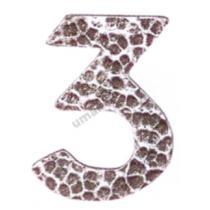 """Umakov V5/24-3 - číslice """"3"""""""