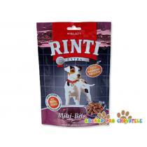 Pochoutka RintiExtra Mini Bits karotka + špenát 100g