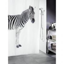 Spirella ZEBRA 180 x 200 cm Sprchový závěs