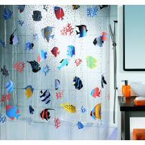 Spirella FISH 180 x 200 cm Sprchový závěs