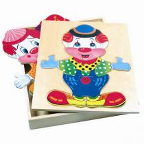 Bino Šatní skříň velká klaun