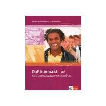 SANDER ILSE, BRAUN BIRGIT DaF kompakt A2 - Kurs- und Übungsbuch mit 2 Audio-CDs