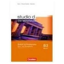 CORNELSEN VERLAG Studio D B2 Band 1 Kurs und Ubungsbuch+CD
