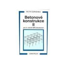 Červenka Petr Betonové konstrukce II