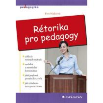 EVA HÁJKOVÁ Rétorika pro pedagogy