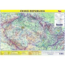 Česká republika mapa Kupka