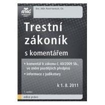 Vantuch Pavel Trestní zákoník s komentářem