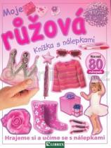Librex Moje růžová knížka s nálepkami