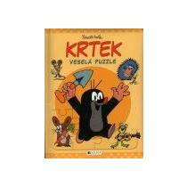 Miler Zdeněk Krtek – veselá puzzle /v knížce