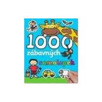 1000 zábavných samolepek