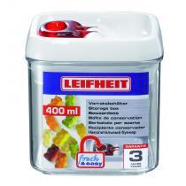 Leifheit Dóza na potraviny Fresh & Easy hranatá 400 ml