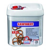 Leifheit Dóza na potraviny Fresh & Easy hranatá 1000 ml