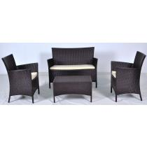 Allibert Salemo 3 seater polyratanový set